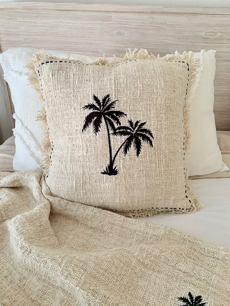 Coastal Palm Cushion