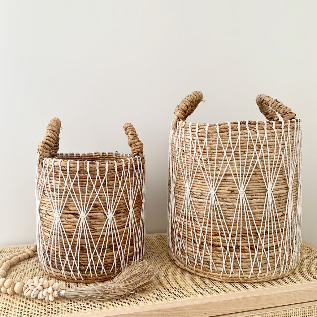 Boho Beach Baskets