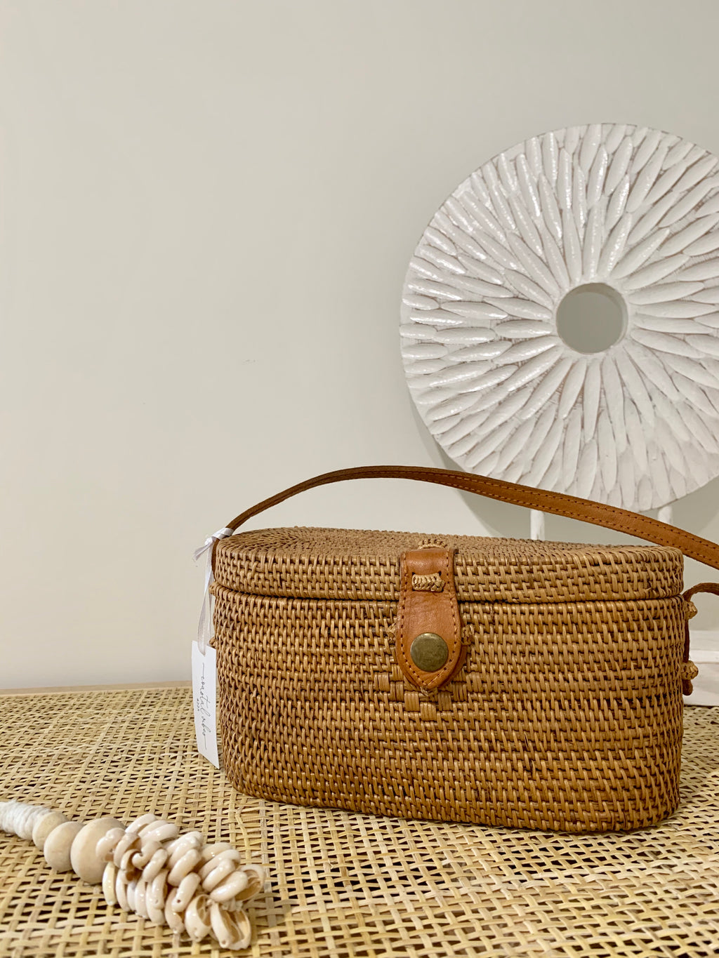 Bella Rattan Bag