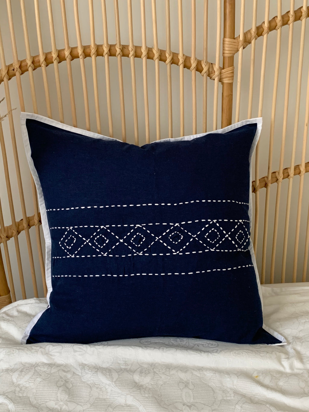 Hannah Blue Cushion