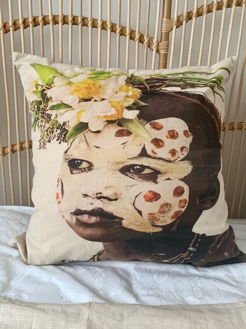 African Zane Cushion