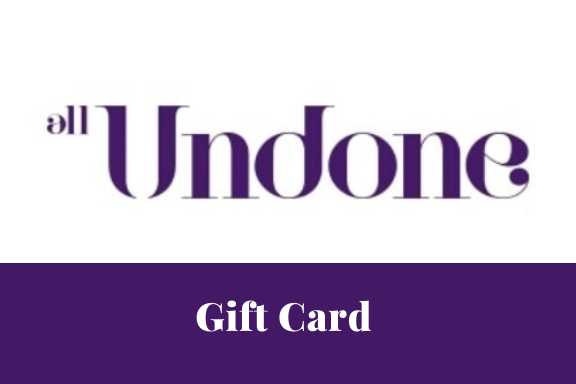 All Undone Virtual Gift Card