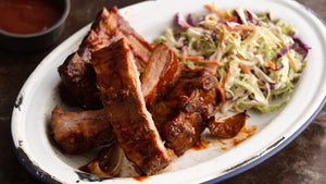 Culley's Melt In Your Mouth, Rib 'N' Chik 'N' Glazed Barbecue Ribs