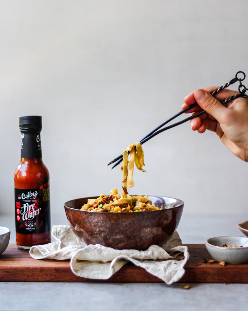 Hot & Spicy Firewater Noodle Stir-Fry