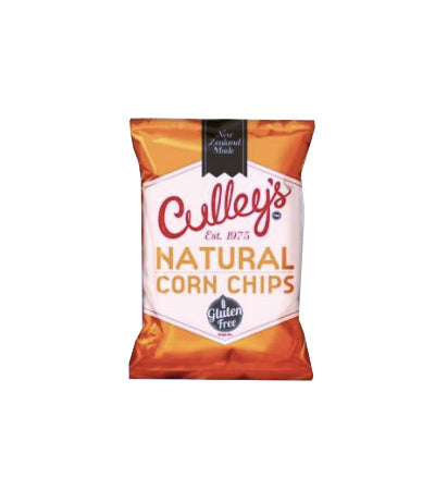 Culley's Natural Corn Chips 200g Bag