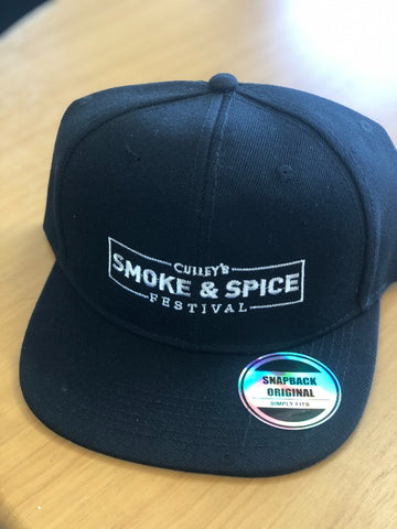 Culley's Smoke & Spice Festival Hat - Black