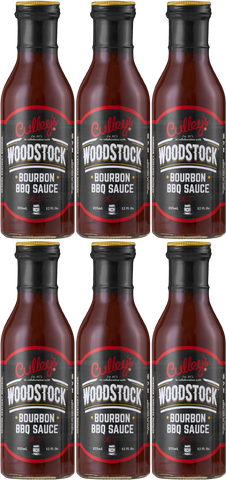 6x Culley's Woodstock BBQ Sauce 355ml