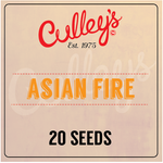 Asian Fire Chilli Seeds