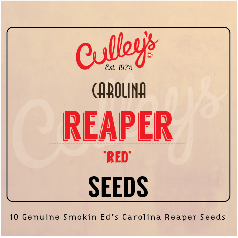 Culley's X PUCKERBUTT PEPPER CO. Carolina Reaper Seeds
