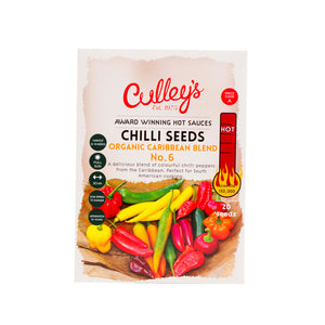Culley's Organic Caribbean Blend Chilli Seeds
