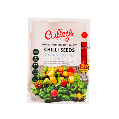 Culley's Habanero Chilli Seeds