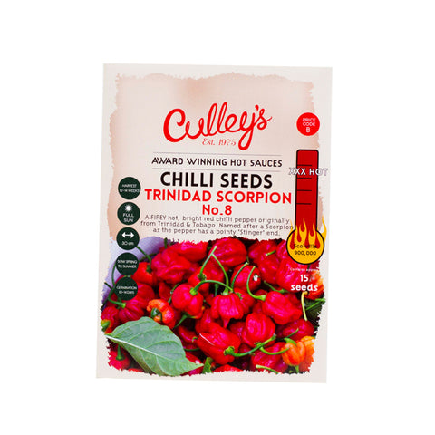 Culley's Trinidad Scorpion Chilli Seeds