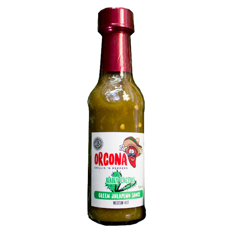 Orcona Hairy Cactus Green Jalapeno Sauce