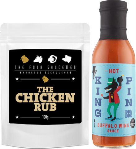 Hot Wing & The Chicken Rub