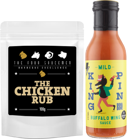 Mild Wing & The Chicken Rub