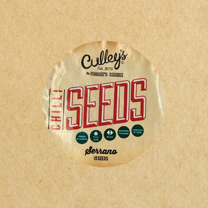 Culley's Serrano Chilli Seeds