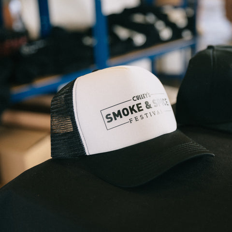 Culley's Smoke & Spice Festival Hat - White