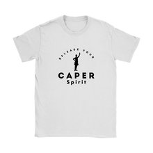 Release Your Caper Spirit T-Shirt - Highland Dancer (Black Design)