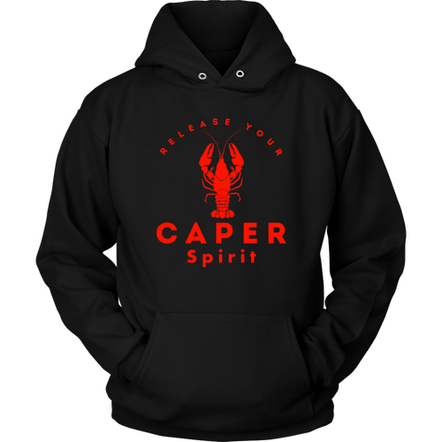 Caper Spirit Lobster Hoodie - Red