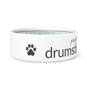 Professional Drumstick Taster Dog Bowl