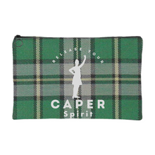 Release Your Caper Spirit Accessory Pouch - Dancer (CB Tartan w/White Design)