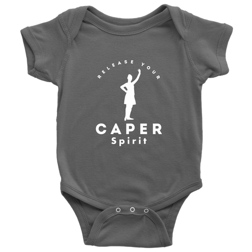 Release Your Caper Spirit Baby Bodysuit - Dancer