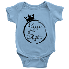 Keeper Of The Rhythm Baby Bodysuit - Black Design