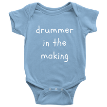 Drummer in the making - Baby Bodysuit