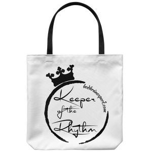 Keeper Of The Rhythm Tote Bag