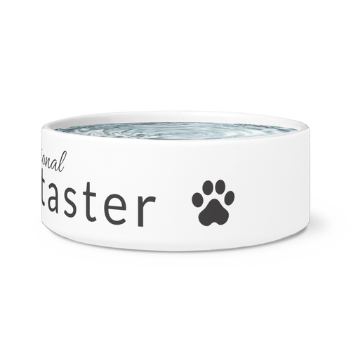 Professional Tipper Taster Dog Bowl