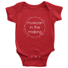 Musician in the making Baby Bodysuit