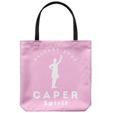 Release Your Caper Spirit Tote Bag 2 - Dancer