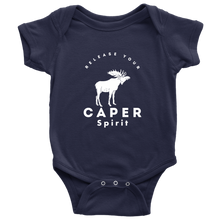 Release Your Caper Spirit Baby Bodysuit - Moose