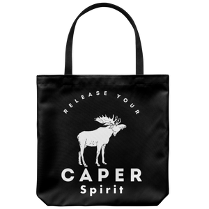 Release Your Caper Spirit Tote Bag - Moose
