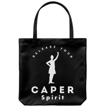 Release Your Caper Spirit Tote Bag 1 - Dancer