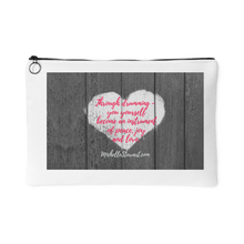 'Through drumming' Quote Accessory Pouch