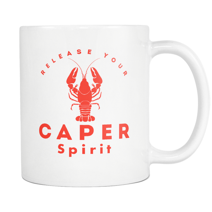 Release Your Caper Spirit Mug - Lobster 1