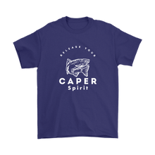 Release Your Caper Spirit T-Shirt - Fish
