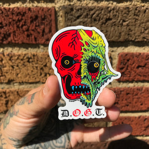 D.O.G.T Collaboration sticker