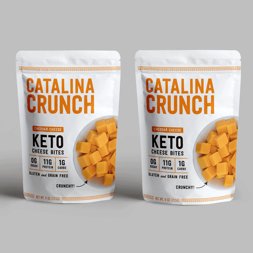 Catalina Crunch Cheddar Cheese Bites (2-Pack) (Add-On)