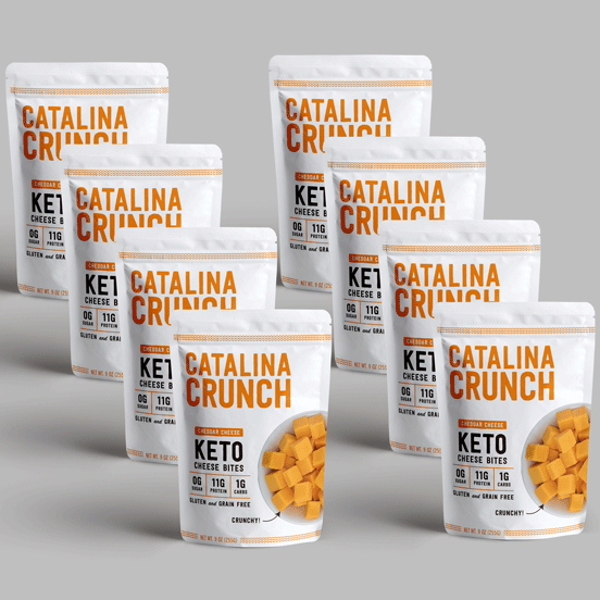 Catalina Crunch Cheddar Cheese Bites (8-Pack)