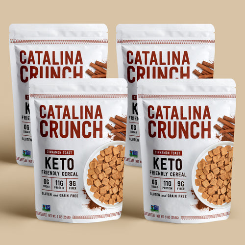 Catalina Crunch Cinnamon Toast Cereal (4-Pack)
