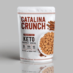Catalina Crunch Cinnamon Toast Cereal, Zero Sugar, Keto Friendly
