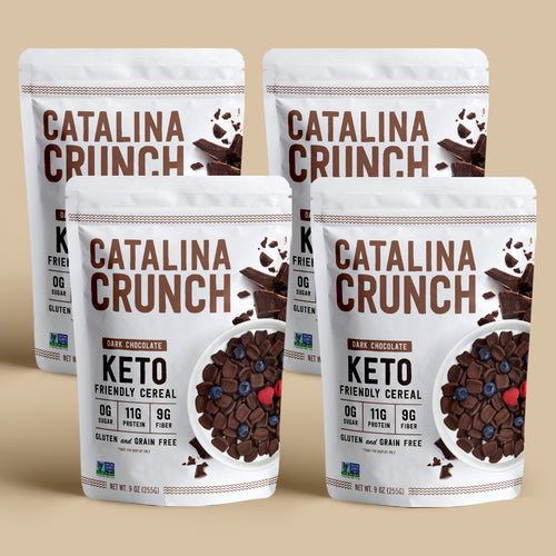 Catalina Crunch Dark Chocolate Cereal (4-Pack)