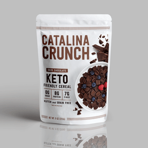 Catalina Crunch Dark Chocolate Cereal, Zero Sugar, Keto Friendly