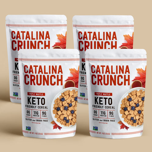 Catalina Crunch Maple Waffle Cereal (4-Pack)