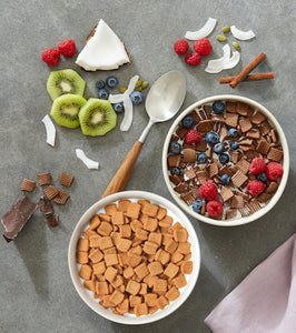 Catalina Crunch Dark Chocolate and Cinnamon Toast Cereal, Zero Sugar, Keto Friendly