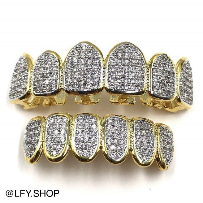 ICED Grills in Gold
