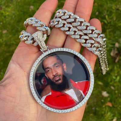 ICED Custom XL Baller Picture Pendant 67mm LFYSHOP