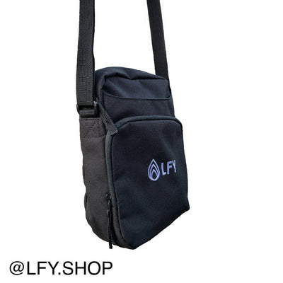 LFY Baller Man Bag, side of the bag being shown against a white background